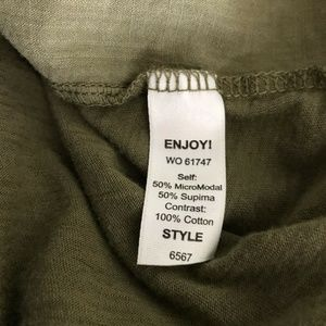 Michael Stars Tops - Michael Stars Long Sleeve Tunic Button Down Shirt